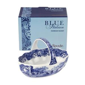 Bielo-modrý porcelánový košíčok Spode Blue Italian, ø 15 cm