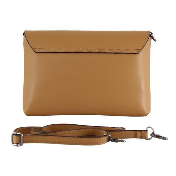 Hnedá kožená kabelka Penny