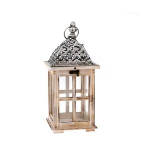 Drevený lampáš Dakls Merozzo