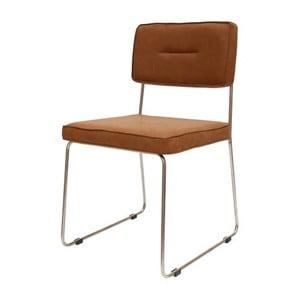 Hnedá jedálenská stolička Canett Ella