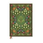 Nelinkovaný zápisník s tvrdou väzbou Paperblanks Poetry in Bloom, 21×30 cm