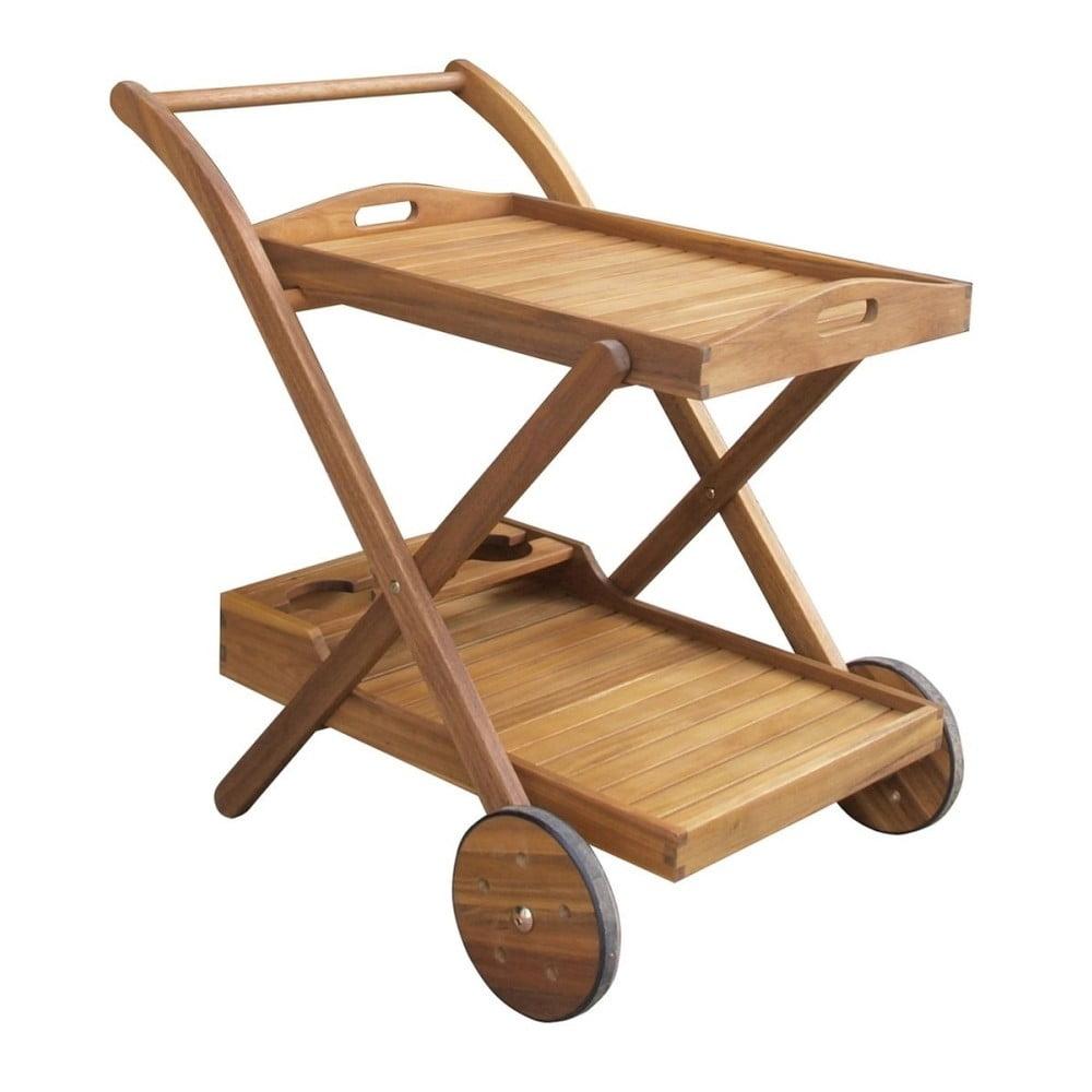 Záhradný servírovací vozík z akáciového dreva ADDU Henderson
