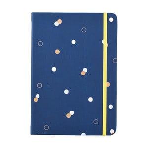 Modrý zápisník o formáte A5 Busy B, 96 strán