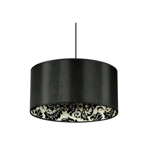 Čierne stropné svietidlo Saparato Nero