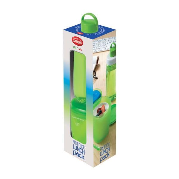 Set desiatového boxu s lyžičkou a fľaškou na vodu Snips Ice Box
