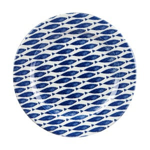 Tanier Churchill China Fishie Blue, 30 cm