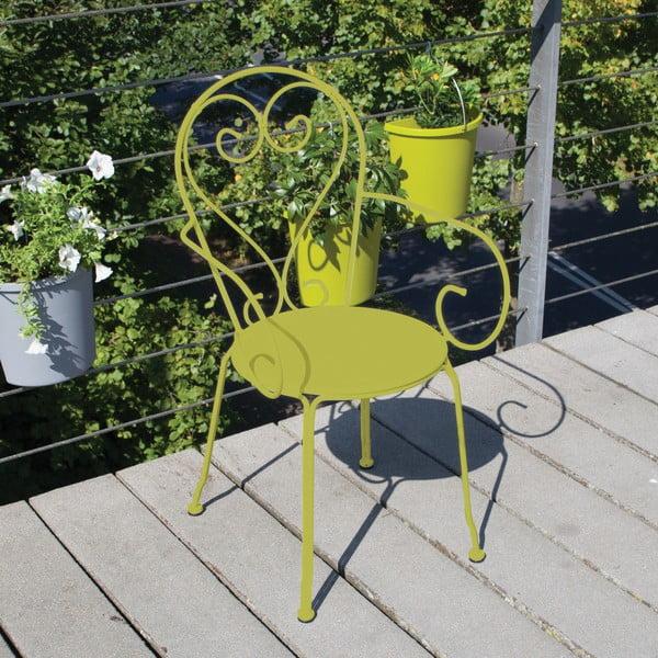 Zelená stolička na balkón Esschert Design Nature