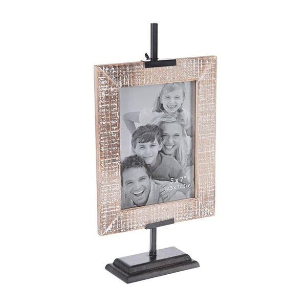 Fotorámček Wooden Beige, 13x18 cm