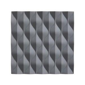 Sivá silikónová podložka pod horúce nádoby Zone Origami Wave