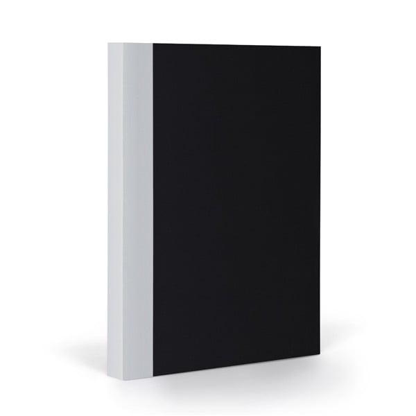 Zápisník FANTASTICPAPER A5 Black/Cool Grey, riadkovaný