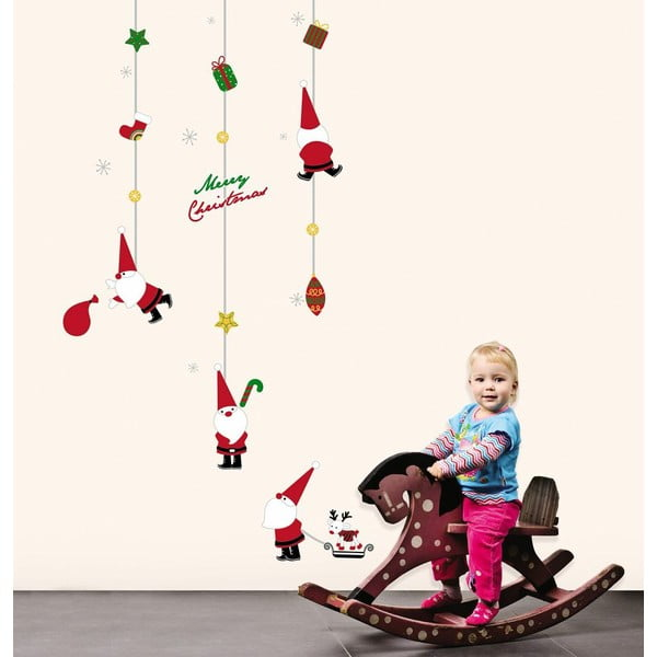 Vianočné samolepky Fanastick Fathers Christmas Toys