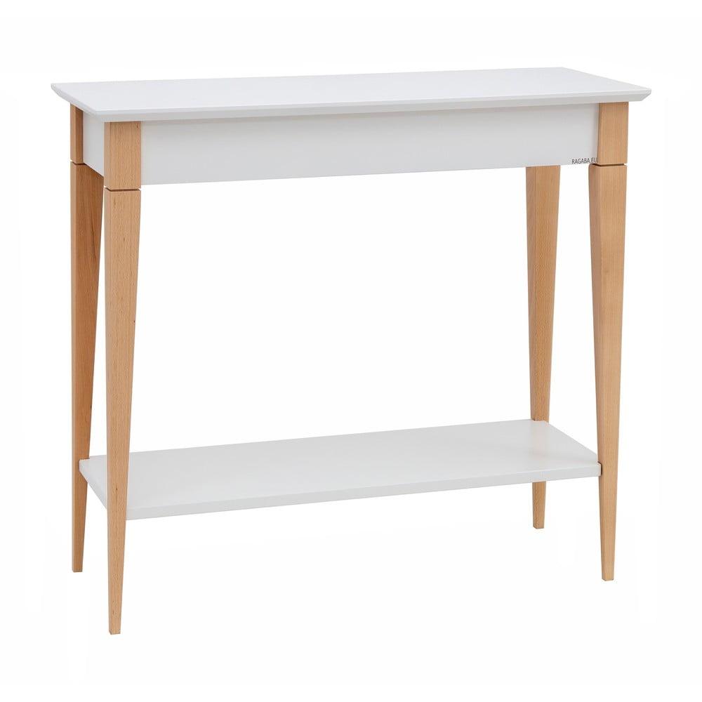 Biely konzolový stolík Ragaba Mimo, šírka 65 cm
