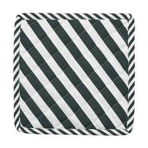 Sada 2 chňapiek Miss Étoile Closed Eye Black Stripes, 22,4 x 22,4 cm