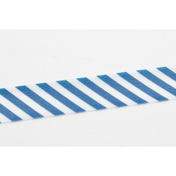 Washi páska Stripe Marine Blue