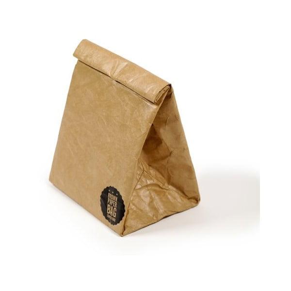 Desiatová taška Luckies of London Brown Paper Bag