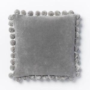 Obliečka na vankúš Ashti Grey, 45x45 cm