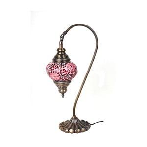 Sklenená lampa Fishing III, 13 cm