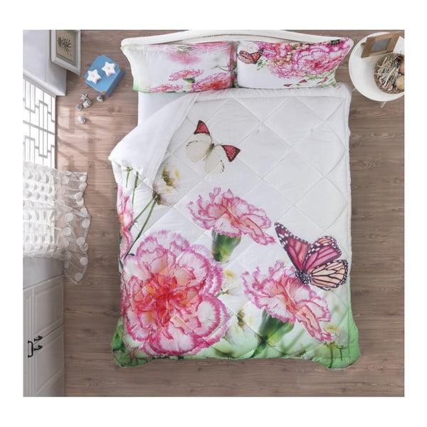 Ozdobný spálňový set Floral, 200x265cm