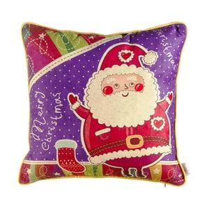 Vianočná obliečka na vankúš Apolena Comfort Santa, 43 x 43 cm