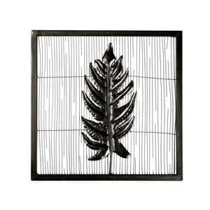 Nástenná kovová dekorácia Small Leaf