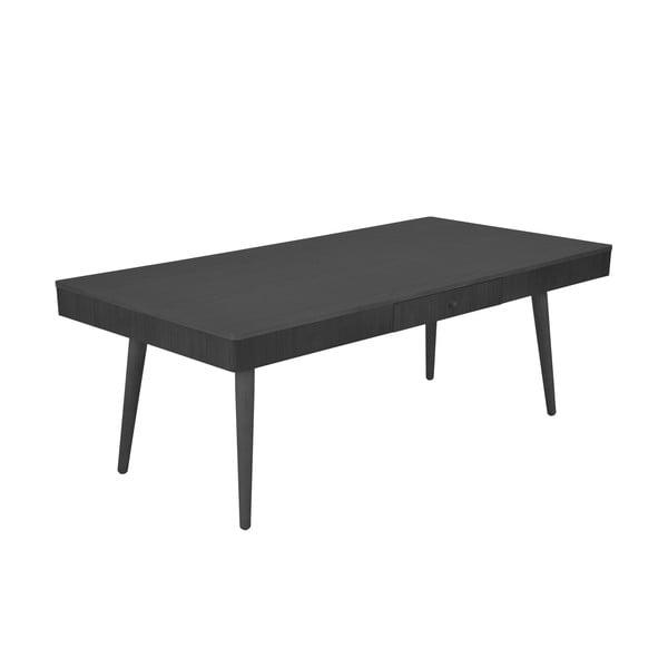 Konferenčný stolík Niles 130x68 cm, čierny