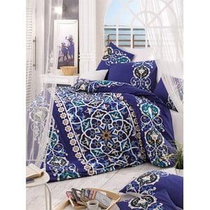 Obliečky s plachtou Kayra Blue, 200x220 cm
