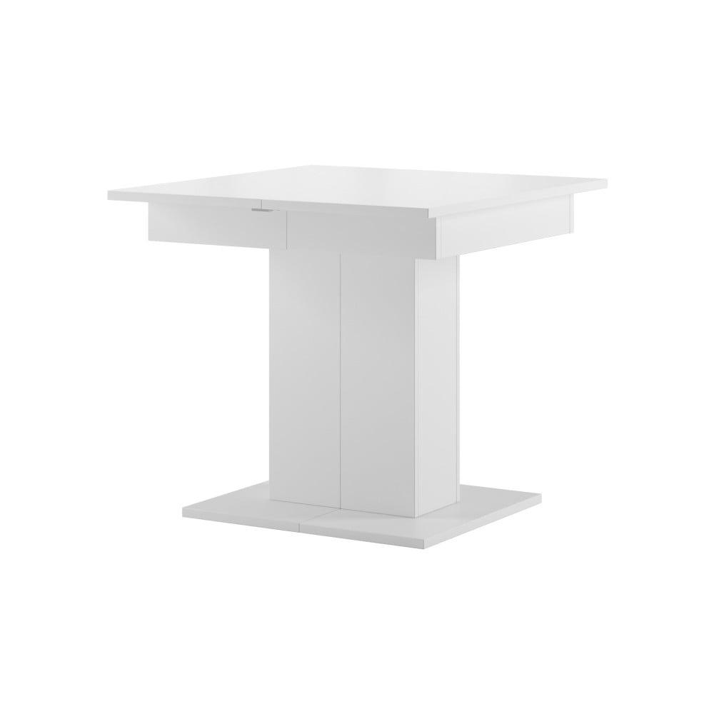 Biely rozkladací jedálenský stôl Szynaka Meble Star 5