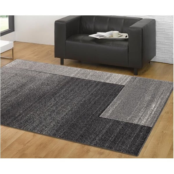 Koberec Webtappeti Intarsio Gradient Grey, 140×200cm