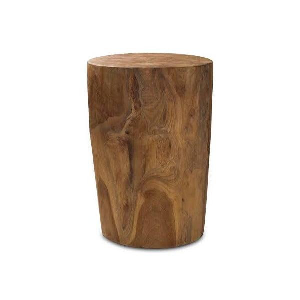Drevená taburetka Rond