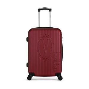 Vínový cestovný kufor na kolieskach VERTIGO Valise Grand Cadenas Integre Malo, 33 × 52 cm
