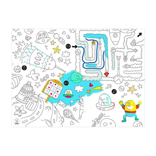 Prestieranie-omaľovánky pre deti Games, 24 ks