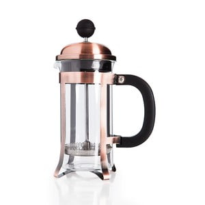 Tmavomedený french press Bambum Taşev Watson, 350 ml