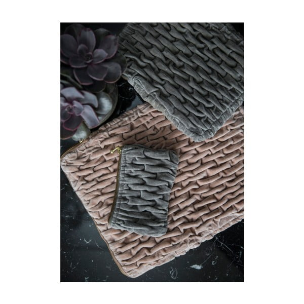 Velúrová peňaženka A Simple Mess Varm, 16×10 cm