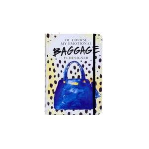 Zápisník Tri-Coastal Design Baggage