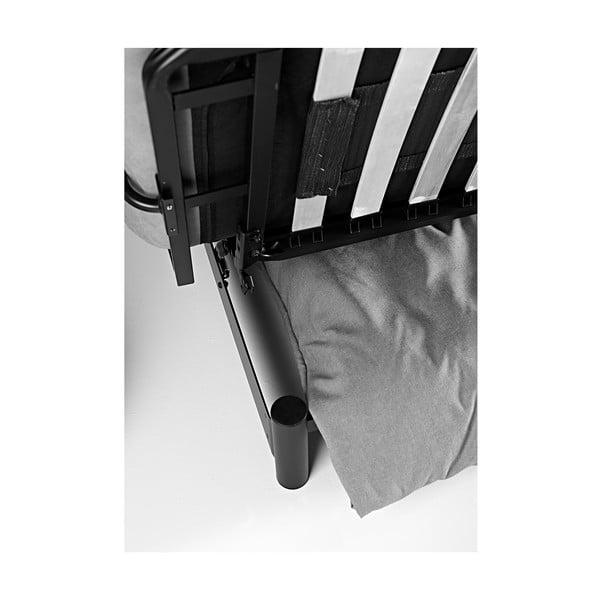 Sivo-hnedá rozkladacia pohovka Innovation Fuji