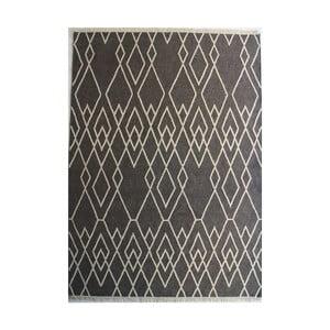 Sivý vlnený koberec Linie Design Omo, 140 x 200 cm