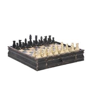 Šachy Black/Beige