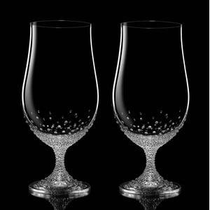 Sada 2 pohárov na pivo Pontus so Swarovski Elements v luxusnom balení