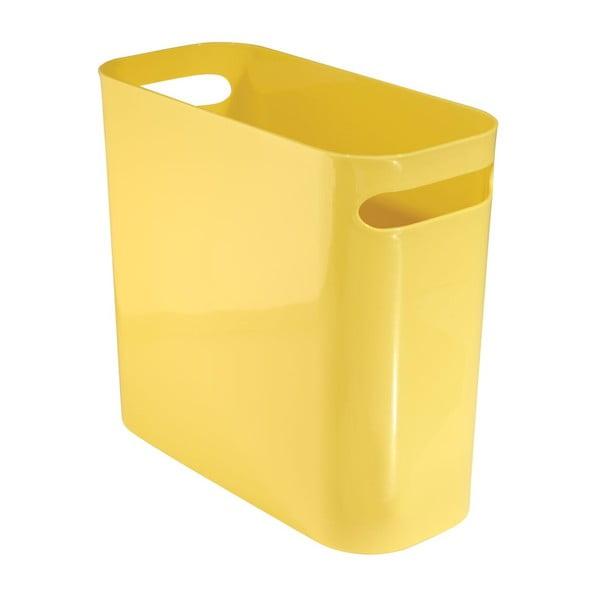 Úložný kôš Una Yellow, 27x12,5 cm