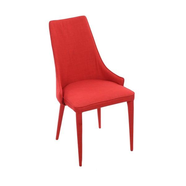 Červená jedálenská stolička InArt Red Universe