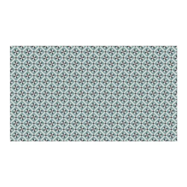 Vinylový koberec Abda Blue, 52x140 cm