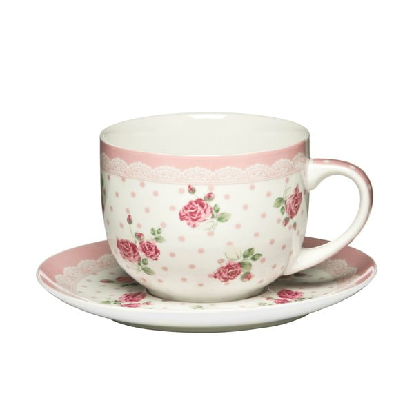 Hrnček s tanierikom, Rose Pink