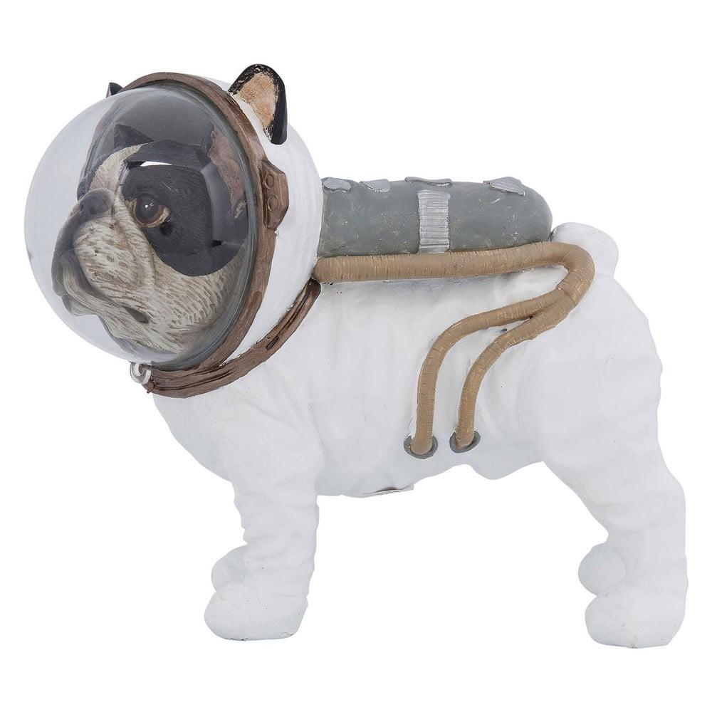 Dekoratívna soška Kare Design Space Dog, výška 21 cm