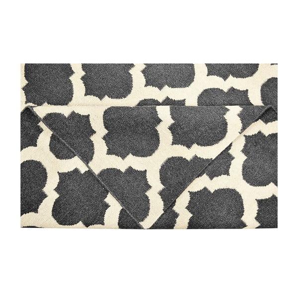Vlnený koberec Julia Black, 120 x 180 cm