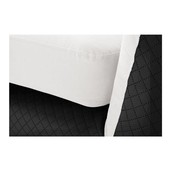Kreslo Meteore Black/White