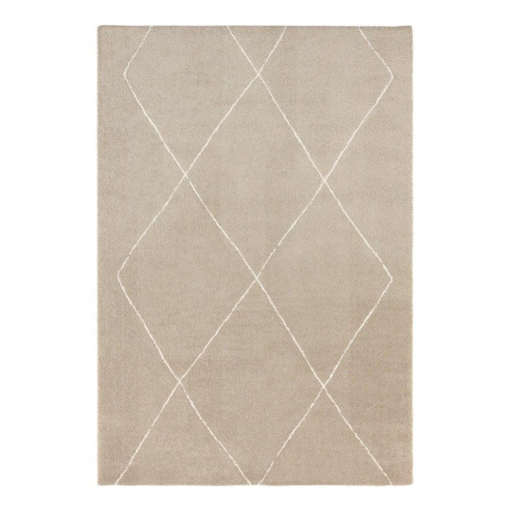 Béžovo-krémový koberec Elle Decor Glow Massy, 80 x 150 cm
