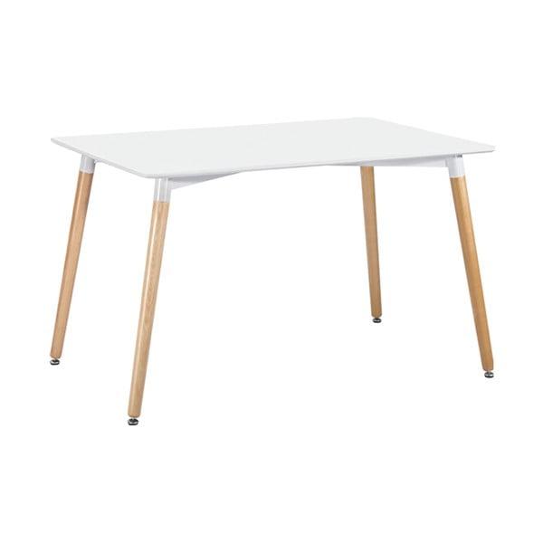 Biely jedálenský stôl Leitmotiv Elementary