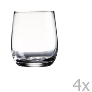 Sada 4 pohárov Sola Tumbler, 322 ml