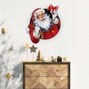 Vianočná samolepka Ambiance Santa Claus Design