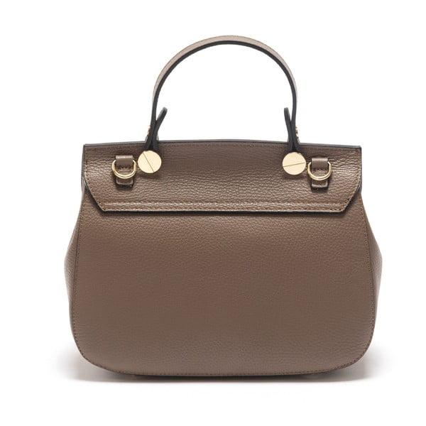 Hnedá kožená kabelka Sofia Cardoni Fabiana Fango